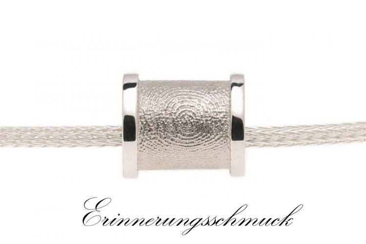 Erinnerungsschmuck, Gedenkschmuck, Figerprint