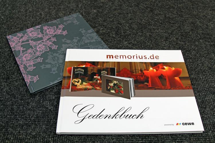 Gedenkbuch, Erinnerungsbuch, Fotobuch