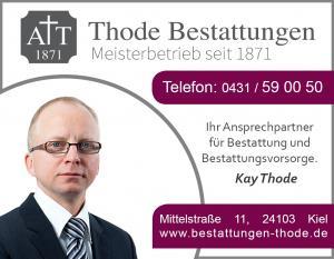 Anzeige Werbung Thode 2016 neue Farbe neues Logo Kay Thode