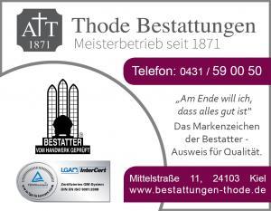 Anzeigen Markenzeichen Werbung Thode 2016