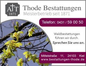 Waldbestattung Kiel Anzeige Baumbestattung