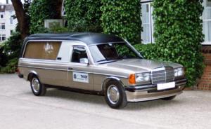 Mercedes 200 Bestattungswagen Bestattungskraftwagen