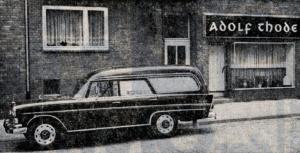 Mercedes Bestattungen Bestattungskraftwagen Leichenwagen 100 Jahre Thode