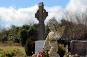 Friedhof Irland