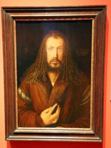 Albert Dürer Schaufenster Bestatter