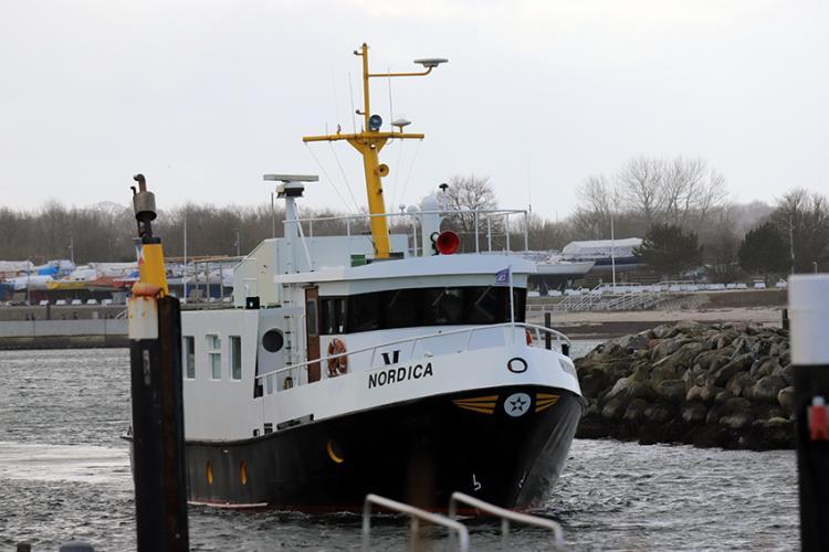 Seebestattung ab Kiel Strande Reederei Ludwig M/S NORDICA