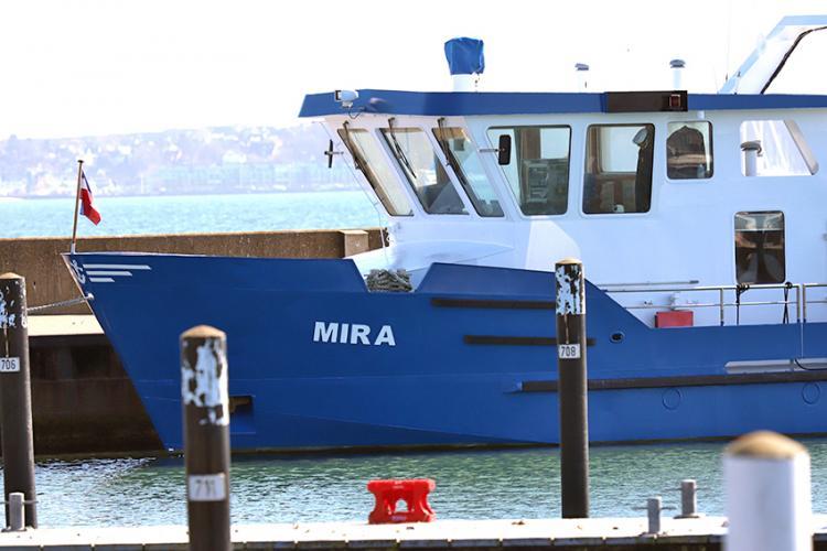 Seebestattungen mit der MIRA ab Kiel Strande Reederei DSBG